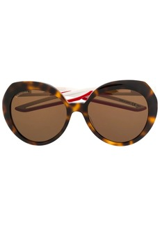 Balenciaga oversized frame sunglasses