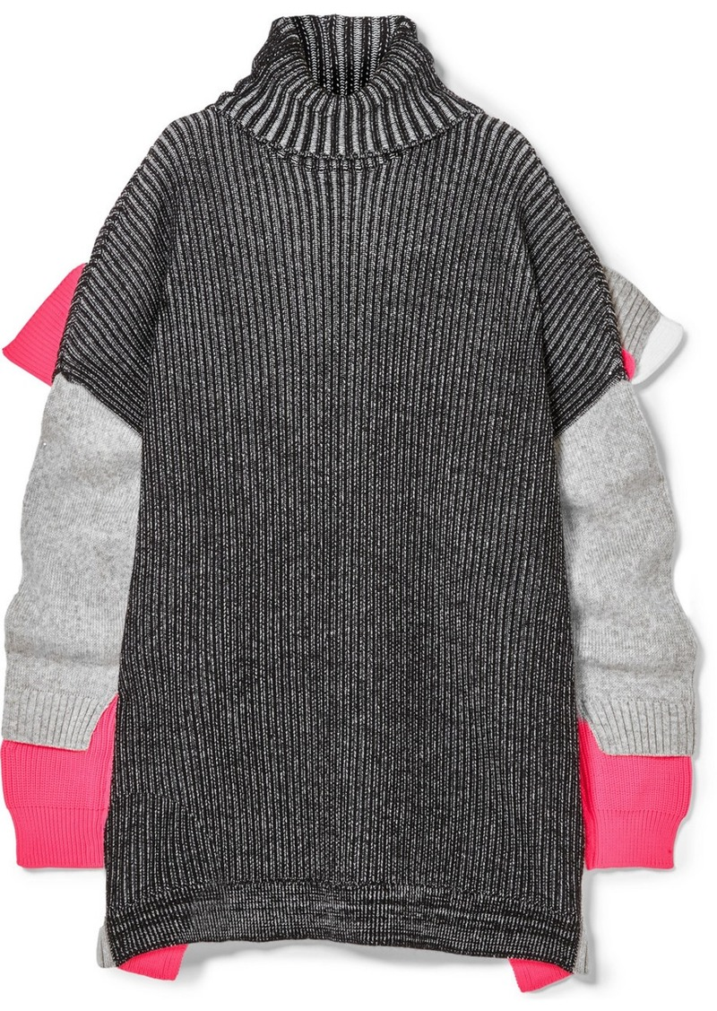 391561514a On Sale today! Balenciaga Oversized Layered Wool-blend Turtleneck ...