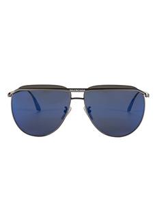 Balenciaga Oversized Logo Aviator Sunglasses