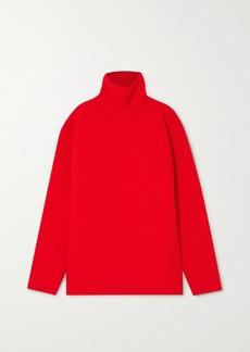 Balenciaga Oversized Ribbed-knit Turtleneck Sweater