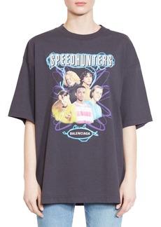Balenciaga Oversized Speedhunter T-Shirt