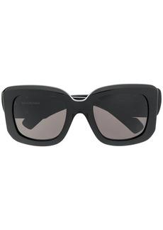 Balenciaga oversized square BB sunglasses