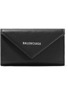Balenciaga Paper Printed Textured-leather Key Case