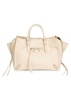 Balenciaga Papier Leather Satchel