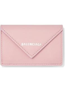 Balenciaga Papier Mini Textured-leather Wallet