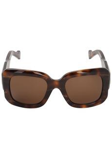 Balenciaga Paris D-frame Logo Sunglasses