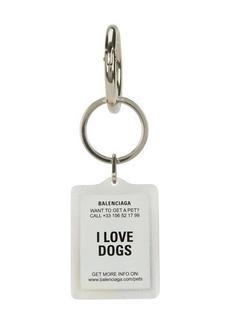 Balenciaga Pets Dog keyring
