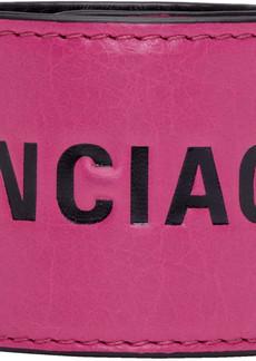 Balenciaga Pink & Black Cycle Bracelet