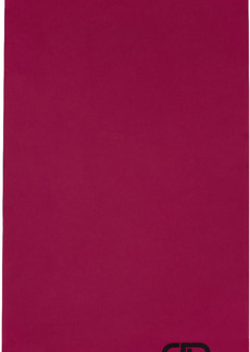 Balenciaga Pink Blanket Scarf