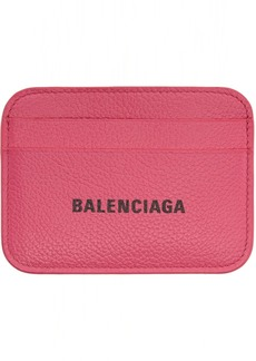 Balenciaga Pink Cash Card Holder