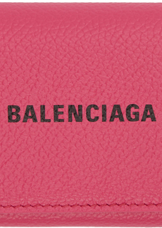 Balenciaga Pink Mini Accordion Cash Wallet