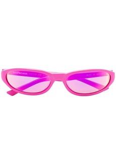 Balenciaga Pink oval sunglasses