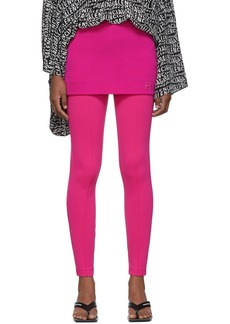 Balenciaga Pink Twill Miniskirt