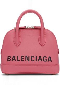 Balenciaga Pink XXS Ville Bag