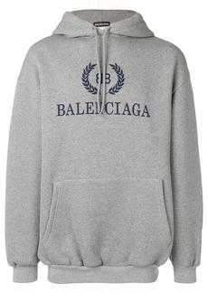 Balenciaga printed logo hoodie