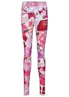 Balenciaga Printed stretch-cotton leggings