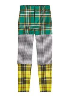Balenciaga Printed Virgin Wool Pants