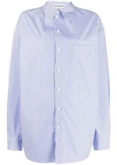 Balenciaga pulled striped shirt