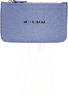 Balenciaga Purple Cash Long Card Holder