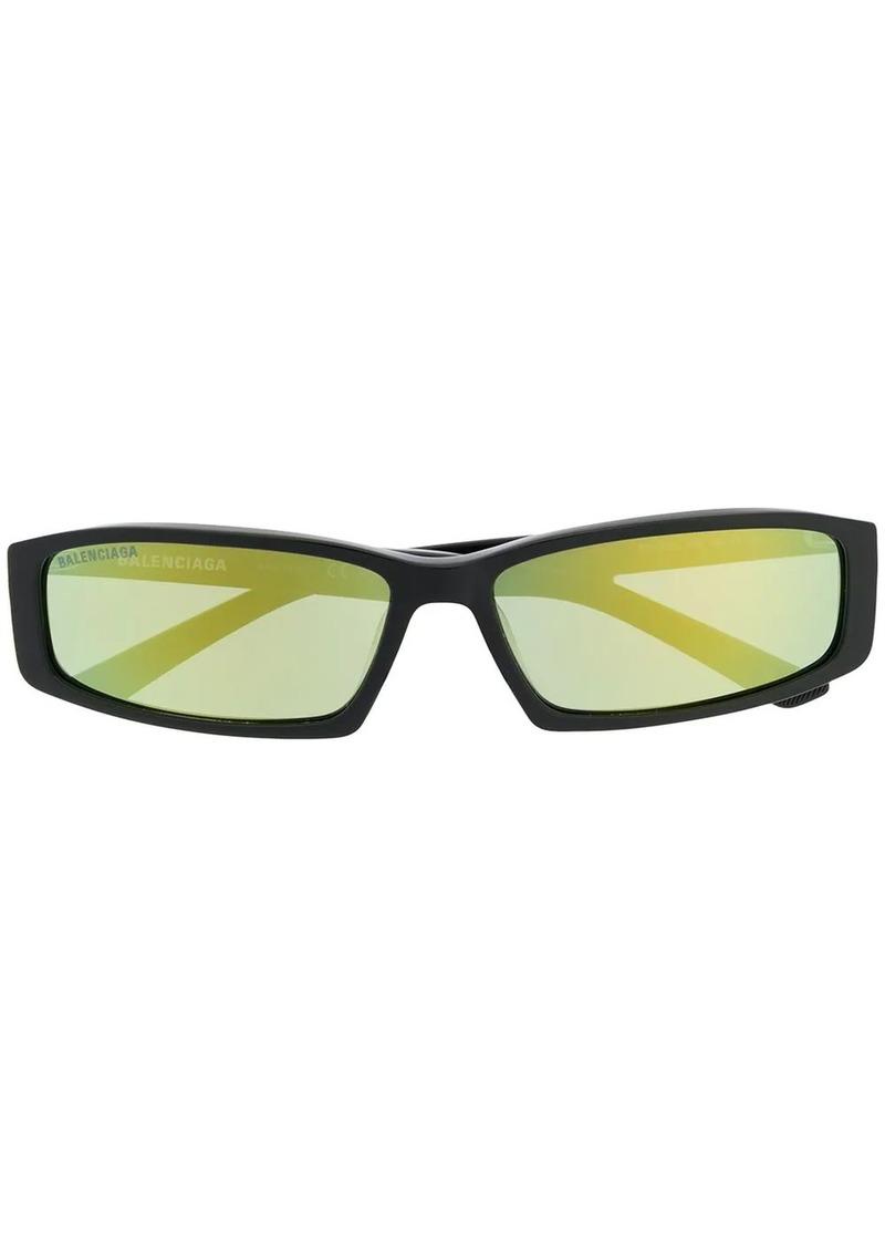 Balenciaga rectangle frame sunglasses
