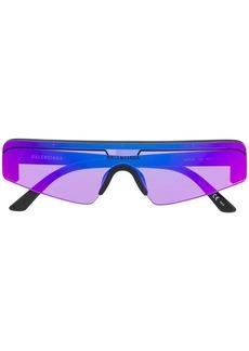 Balenciaga rectangular ski sunglasses