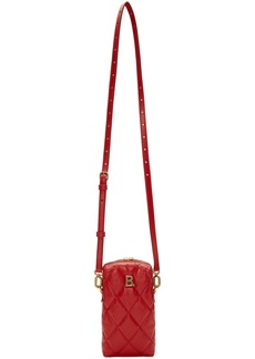 Balenciaga Red B. Touch Rectangle Bag