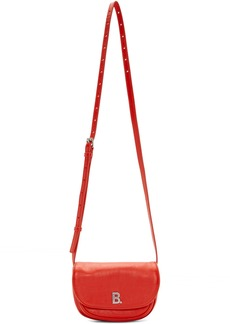 Balenciaga Red XS Soft Round Crossbody Bag