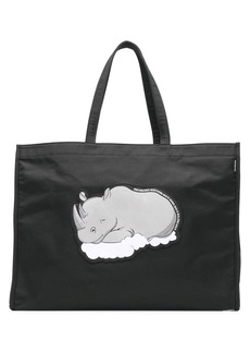 Balenciaga rhino print market shopper