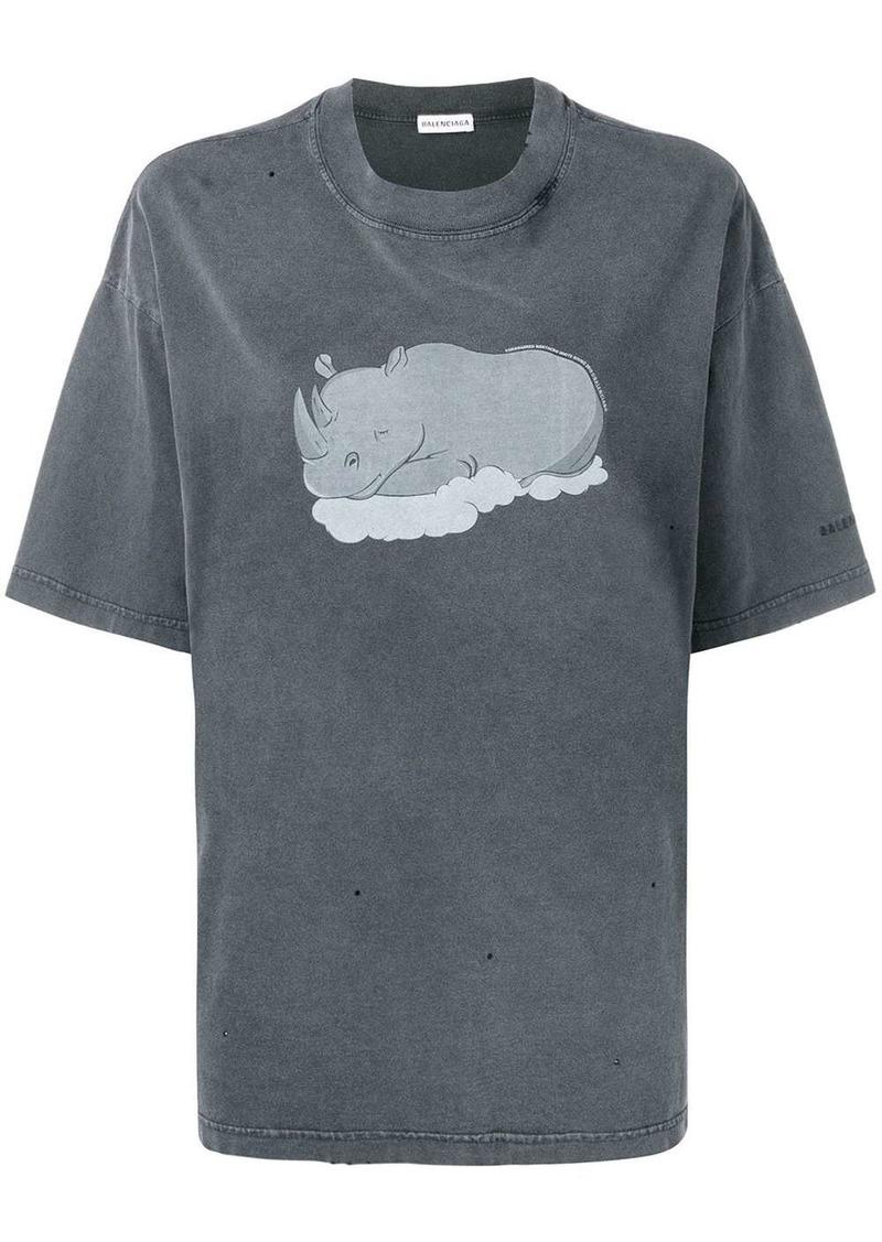 Balenciaga rhino T-shirt