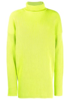 Balenciaga ribbed turtleneck jumper