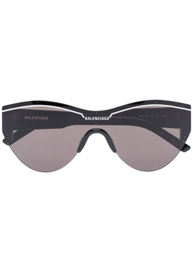 Balenciaga Round logo sunglasses