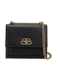 Balenciaga S Sharp Leather Shoulder Bag