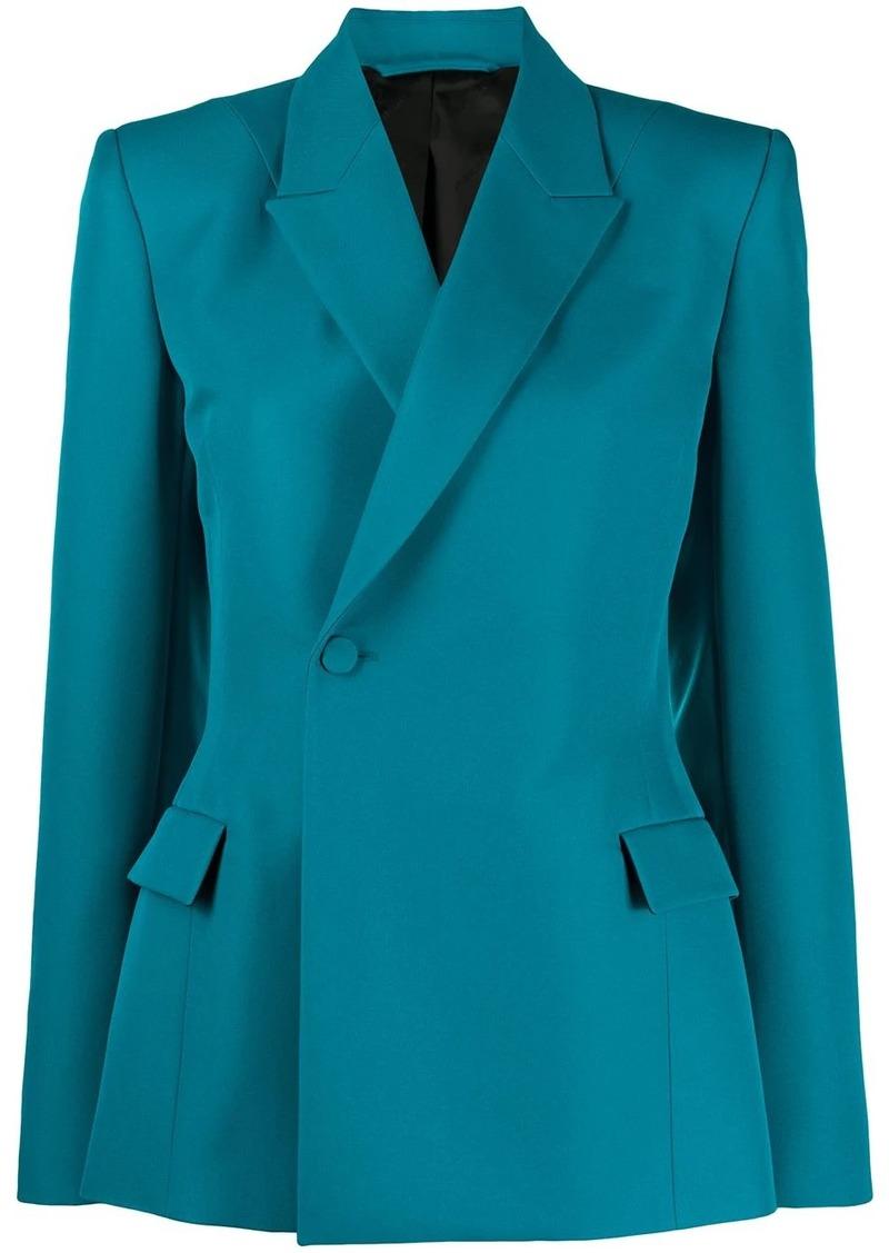 Balenciaga sculpted boxy blazer