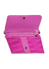 Balenciaga Shift Logo Jacquard Nylon Wallet Bag
