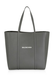 Balenciaga Small Logo Everyday Leather Tote