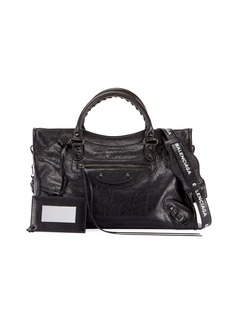 Balenciaga Small Metallic Edge Leather City Bag