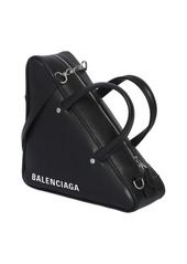 Balenciaga Small Triangle Leather Shoulder Bag