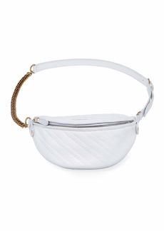 Balenciaga Souvenir XXS AJ Logo Embossed Fanny Pack Bag
