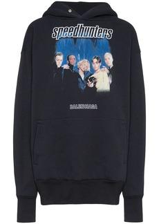 Balenciaga Speed Hunters cotton-blend hoodie