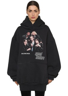 Balenciaga Speed Hunters Cotton Sweatshirt Hoodie