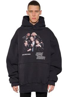 Balenciaga Speed Hunters Cotton Sweatshirt Hoodie