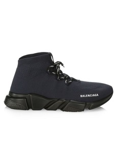 Balenciaga Speed Lace-Up Knit Sneakers