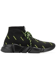 Balenciaga Speed neon logo sneakers