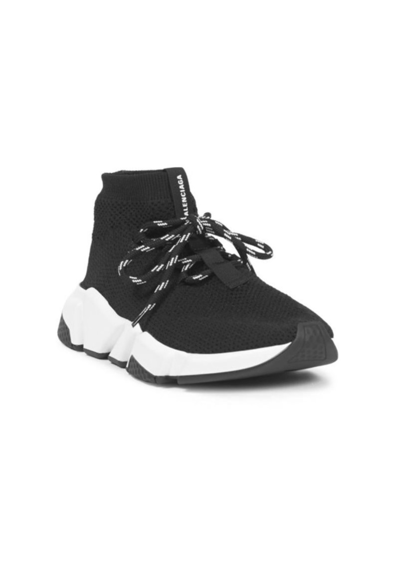 a1c19f08970 Lace-Up Speed Sock Sneakers