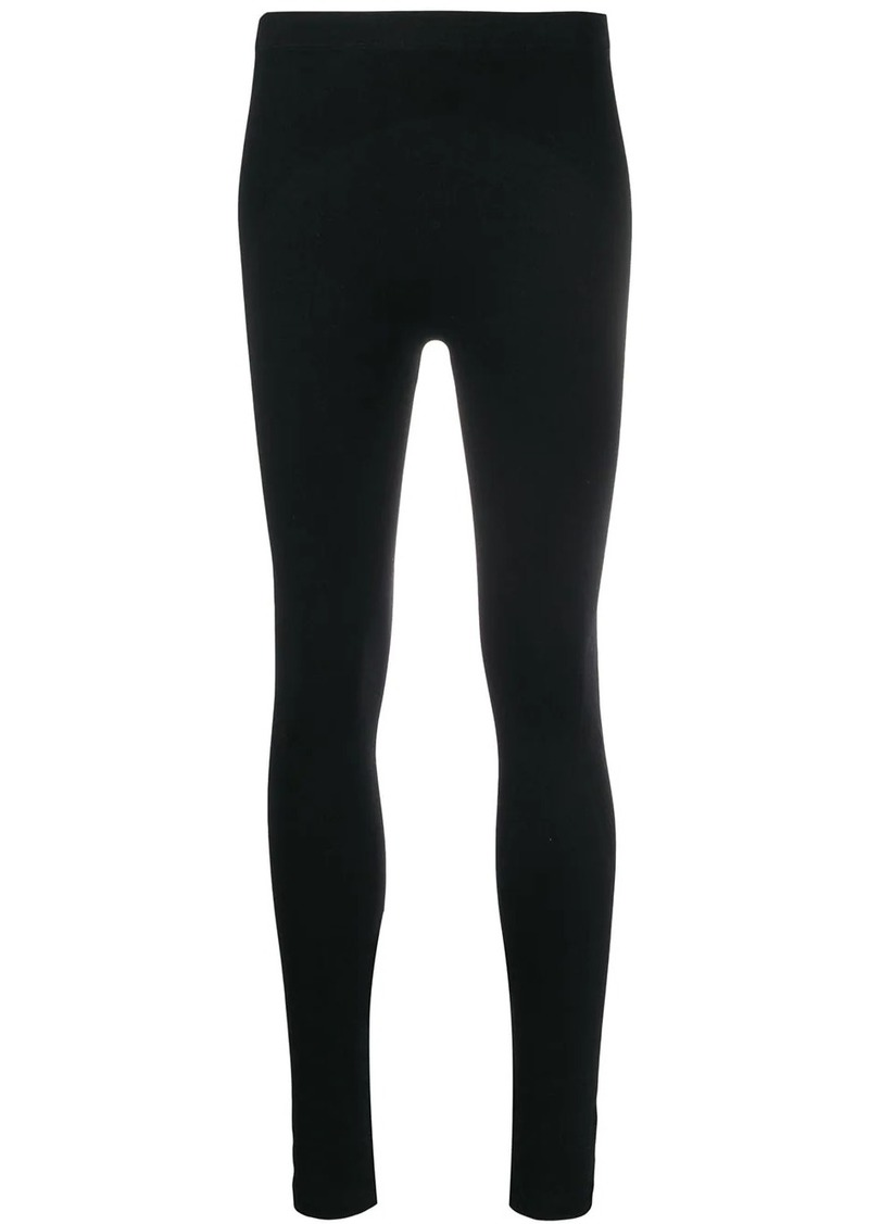 Balenciaga sporty perforated leggings