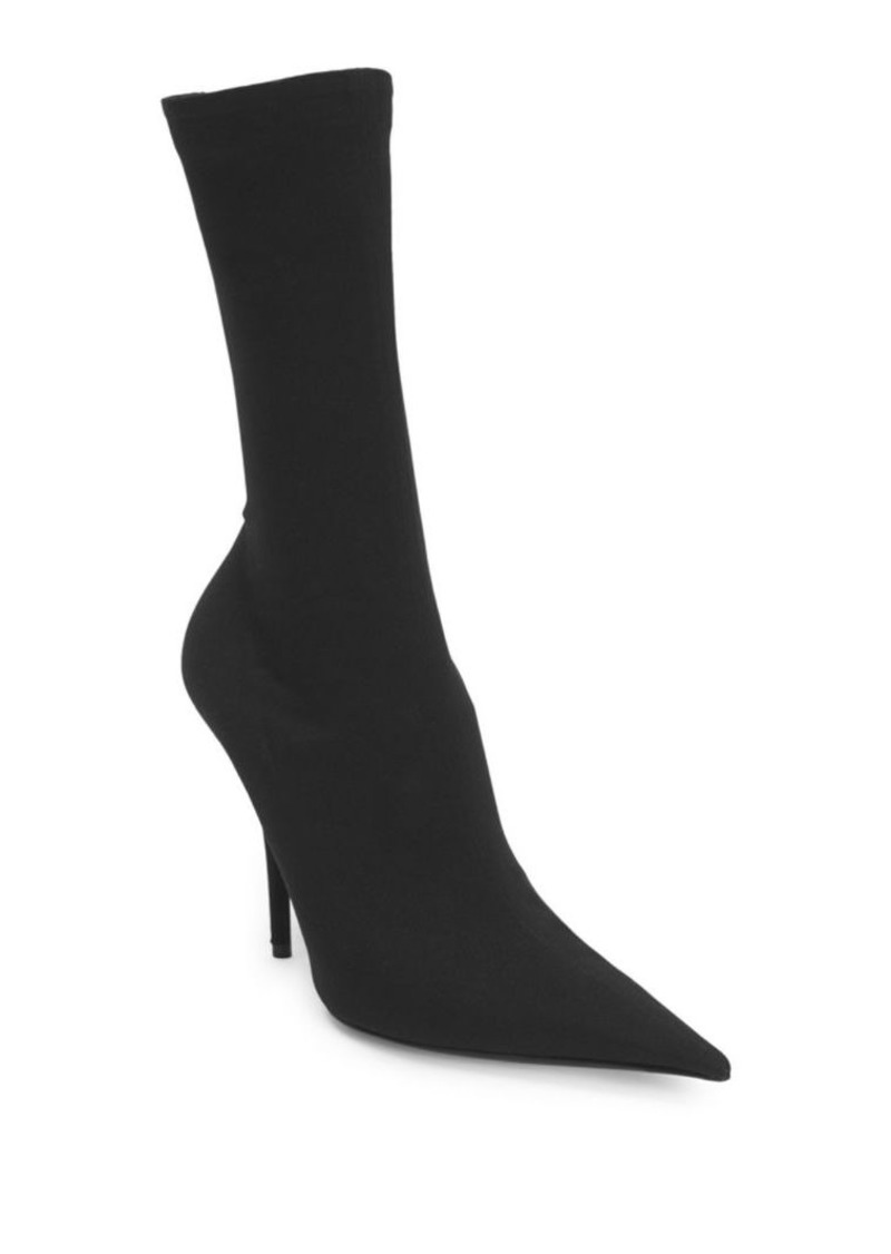 282d533b1888 Balenciaga Stiletto Heel Pointed Sock Booties