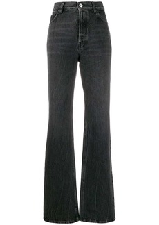 Balenciaga faded effect high rise jeans