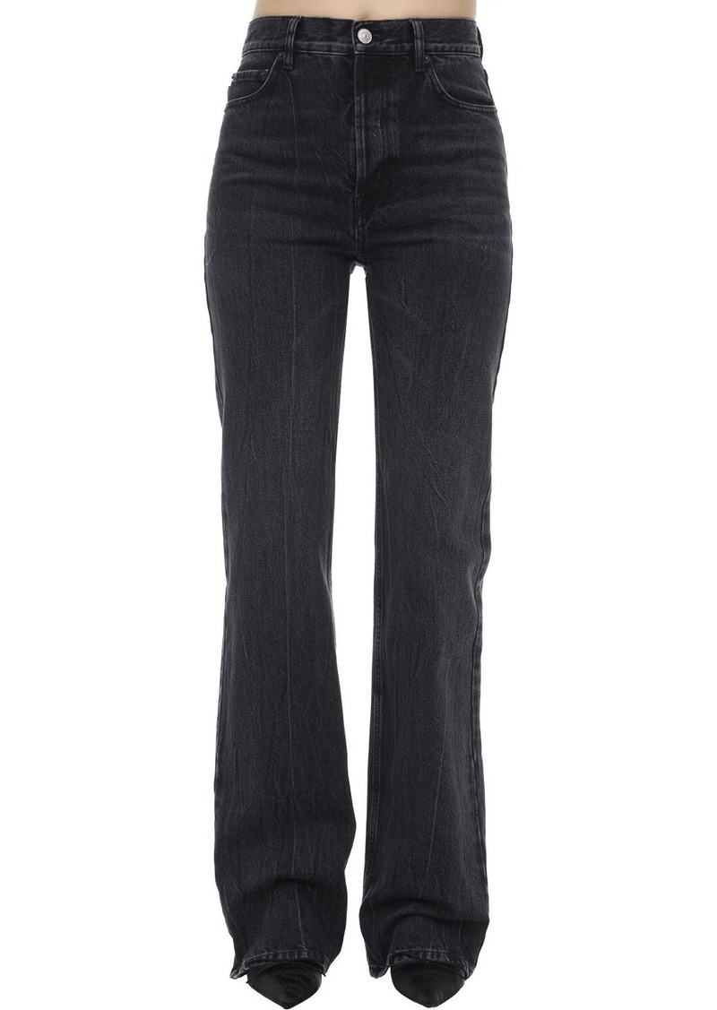 Balenciaga Straight Cotton Denim Jeans