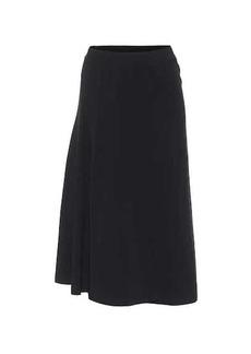 Balenciaga Stretch-cotton midi skirt
