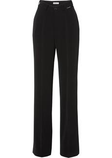 Balenciaga Stretch-crepe Straight-leg Pants
